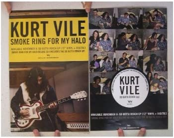 Kurt Vile Smoke Ring For My Halo Canvas Print Album Cover Art Picture