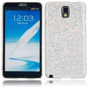Shining Protective Hard Case for Samsung Note3 Silver