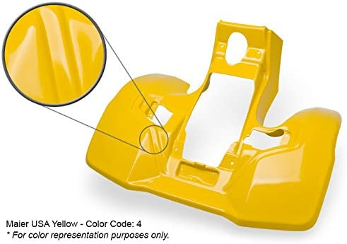 Maier USA 177524 Suzuki LT500R QuadRacer Front Fender Yellow