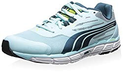 Puma Women's Faas 500 S V2 Sneaker, Clearwater/Blue Coral/Sulphur Spring, 6 M US