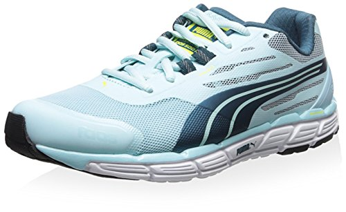 Puma Dames Faas 500 S V2 Sneaker Clearwater / Blue Coral / Sulfur Spring