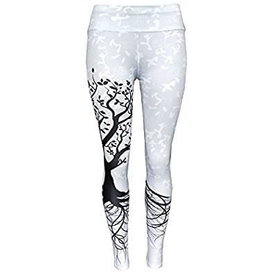 Xuanytp Pantalon de yoga Pantalon Femmes Leggins Imprimés Sporting Fitness Push Up Pour Les Femmes D'Entraînement Haute Taille Élastique Leggings Respirant Pantalon À Séchage Rapide