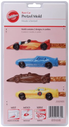 Wilton 2115-1034 Race Car Pretzel -