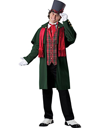 Christmas Caroling Costumes (InCharacter Costumes Men's Yuletide Gent Christmas Costume, Multi,)