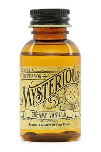 Professor Mysterious Creamy Vanilla Fog Machine Scent, ounce, 1x concentrate, treats 4 quarts