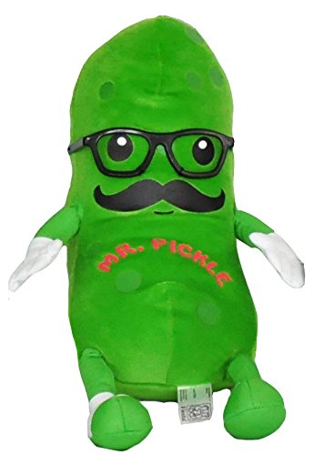 """Fiesta Toy Mr. Pickle with Mustache and Glasses - 12"""""""