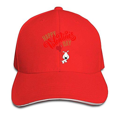 Happy Valentine's Day Cartoon Funny Women Unisex Cool Caps Adjustable Hat Cotton Hat by D8Ds Caps