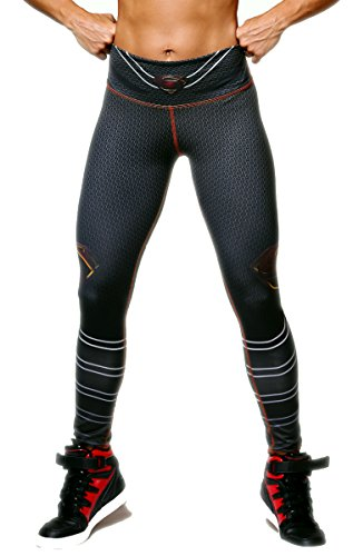 [Superman Superhero Leggings Yoga Pants Compression Tights] (Superman Other Costumes)