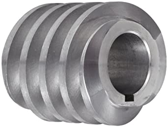 """Boston Gear D1418KLH Worm Gear, 14.5 Degree Pressure Angle, 0.750"""" Bore, 10 Pitch, 1.25 PD, LH"""