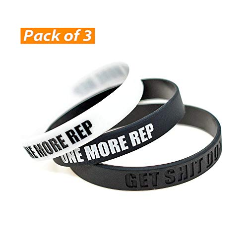 ZURURU Inspirational Silicone Wristbands Rubber Band Bracelets, Custom
