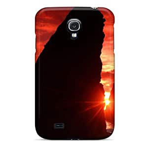Galaxy S4 Cover Case - Eco-friendly Packaging(red Sky In Washington)