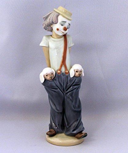 Lladro Figurine, 7600 Little Pals, Clown