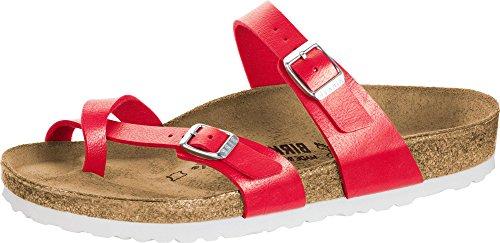 Birkenstock Womens Mayari Graceful Hibiscus Regular Fit Sandals Size 7