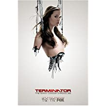 Terminator: The Sarah Connor Chronicles 8x10 Photo Half of Summer Glau Wires Sticking Out Fox Ad kn