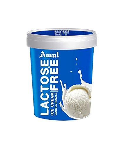 Amul Ice Cream, Lactose Free Vanilla, 125ml: Amazon in