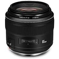 Yongnuo YN85mm f1.8 AF/MF Standard Medium Telephoto Prime Lens Fixed Focal Camera Lens for Canon EF Mount EOS Cameras (YN85mm F1.8 - Canon)