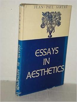 sartre essays in aesthetics