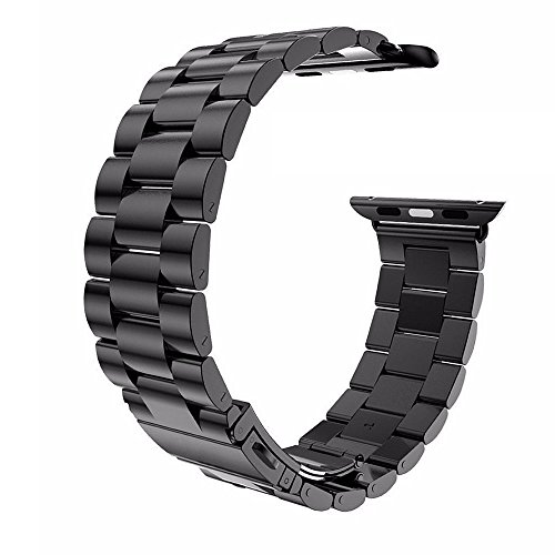 EasyAcc Stainless Replacement Watchband Watch Gunmetal