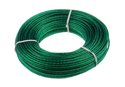 Keim 535007 Stahlseilwäscheleine 50 m Plastik 17 x 3 x 3 cm, grün