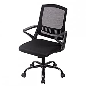 amazon com mid back mesh ergonomic computer desk office chair h12