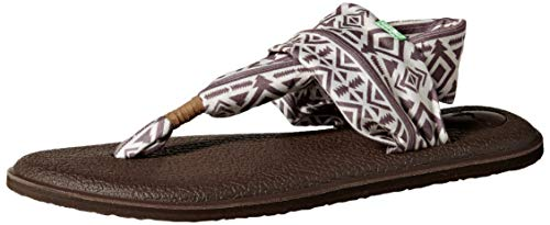 Sanuk Women's Yoga Sling 2 Prints Flat Sandal,skyland natural,10 M US