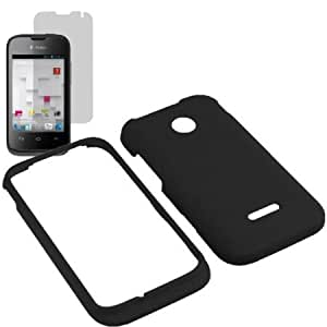 Cerhinu EagleCell Inc. Hard Shield Shell Cover Snap On Case for T-Mobile Huawei Prism II 2 U8686 + Fitted Screen Protector...