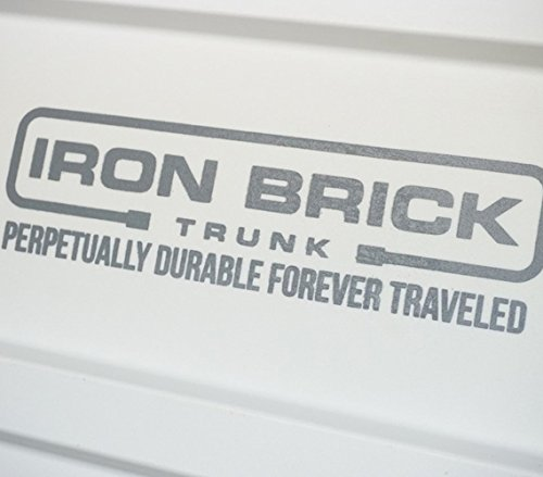 Iron Brick Trunk - STRONGEST Trunk - White by DormCo (Image #4)