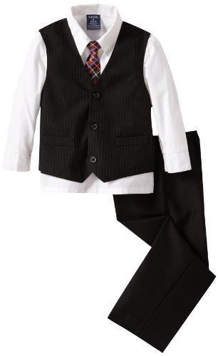 Izod Kids Boys 2-7 F13 Stripe Vest Suit Set