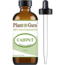 Cajeput Essential Oil 4 oz. 100% Pure Undiluted Therapeutic Grade.