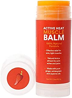 product image for Camille Beckman, Active Heat Muscle Balm, All Natural Formula, 2.2 Ounce