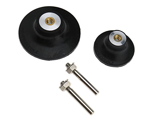 2'' or 3'' Sanding Disc 45mm Backing Pad Holder Roloc Roll Lock Rotary Pad Holder 1/4'' Shank
