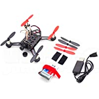 FPV Micro Brushed Drone with LiPo, 5.8GHz Camera Video Transmitter, Charger, Battery Strap