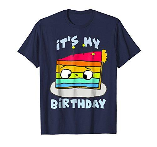 (Hey!) It's My Birthday Rainbow Cake T-Shirt -
