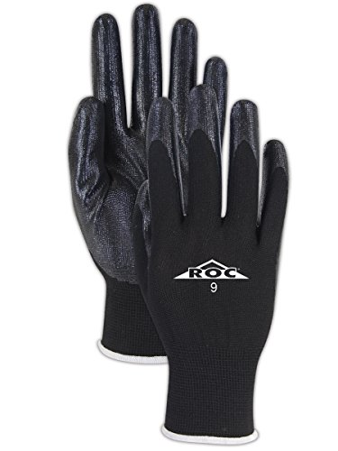 magid-gp16110-roc-polyester-knit-gloves-with-nitrile-palm-coating-10-black-pack-of-24