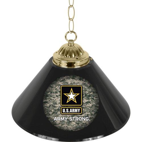 United States Army Single Shade Gameroom Lamp, 14