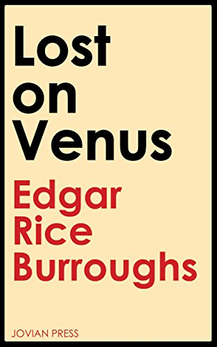 book cover of Lost on Venus