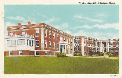 - E2330 ME, Biddeford Webber Hospital Postcard
