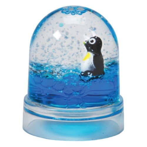 Penguin Liquid Snow Dome - Small 2""