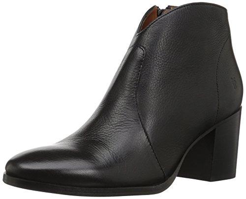 FRYE Women's Nora Zip Short Ankle Boot, Black, 6.5 M US by FRYE