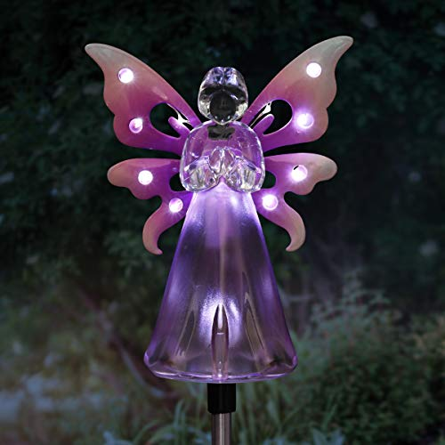 Solar Light Angels For Gardens