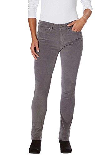 Calvin Klein Jeans Women's Skinny Jean (Gray Shadow Corduroy, 6x30)