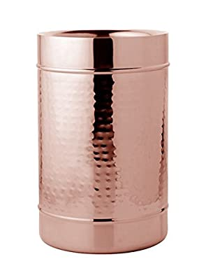 Wine Cooler (Hammered Copper Plated - Double Wall)