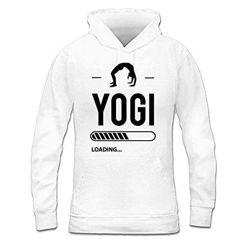 Sudadera con capucha de mujer Yogi Loading by Shirtcity Blanco