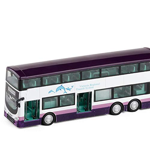 Greensun High Simulation Hong Kong Tourist Bus,1:76 Alloy Double Decker Bus,Collection Models,diecast Metal Toy Vehicles, (Hong Kong Bus)