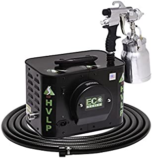 product image for Apollo Sprayers HVLP ECO-3 3-Stage Turbine Paint Spray System, E7000 Spray Gun & 20' Hose