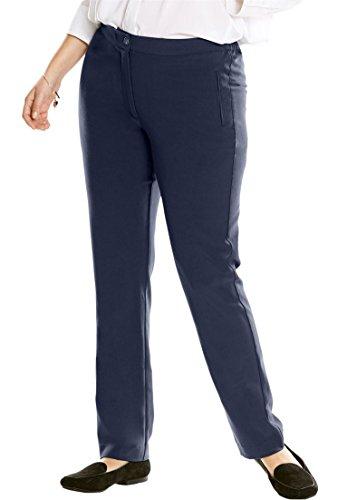 Petite Woven Jeans - 8