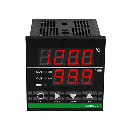 Price comparison product image MH0302 Digital Temperature and Humidity Controller Thermostat Multifunction Digital Display 72 x 72mm