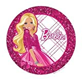 Barbie Edible Cupcake Toppers Decoration
