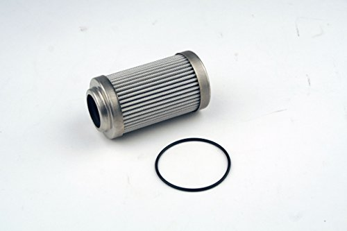 "Aeromotive 12650 Replacement Filter Element, 10-Micron Microglass, Fits All 2"" OD Filter Housings, For Gas and Alcohol Fuels"