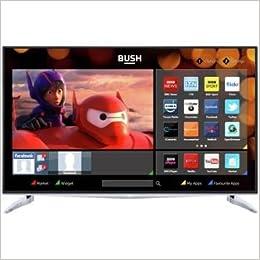 Bush 40 inch 4k uhd freeview hd smart led tv amazon books ccuart Choice Image
